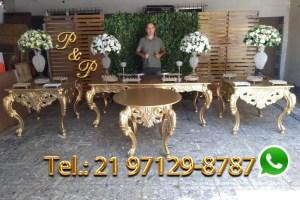 Aluguel Mesa Dourada