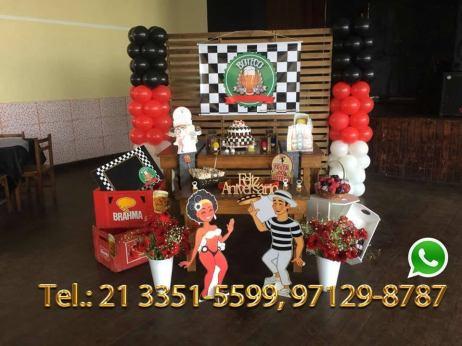 Aluguel Decoração Festa Boteco