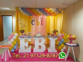Decoração EBI Escola Biblica Infantil