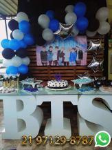 Decoração Festa BTS World