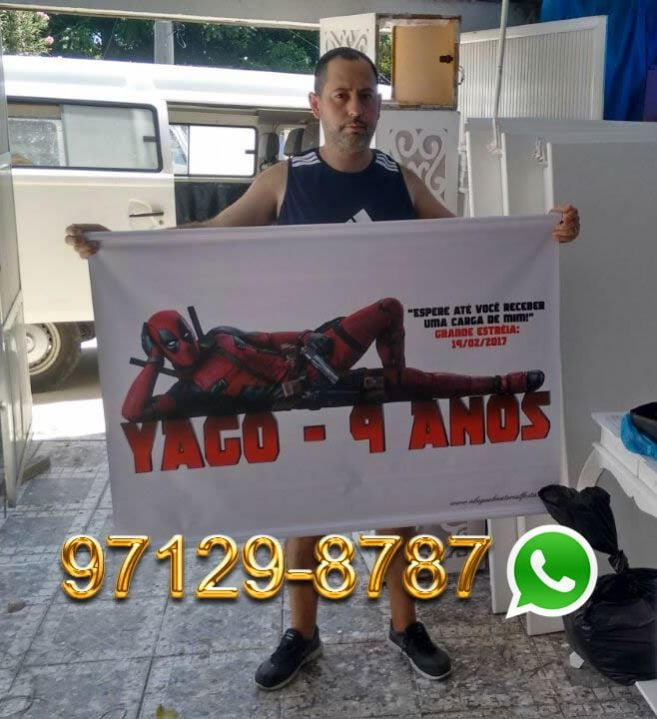 Venda de Banner Deadpool