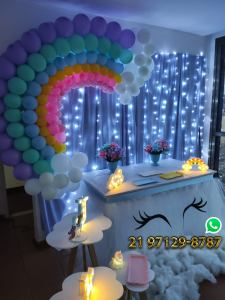 Decoração Festa Unicornio