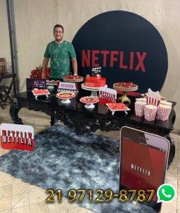 Decoração Festa Netflix