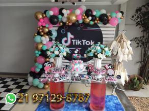 Decoração Tik Tok
