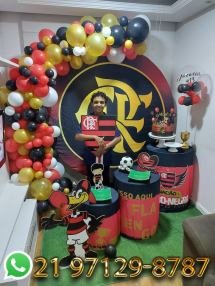 Decoração Festa Flamengo